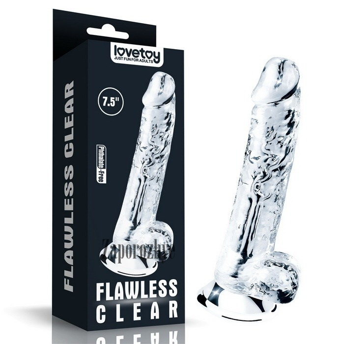 Фаллоимитатор Flawless Clear Dildo 7,5