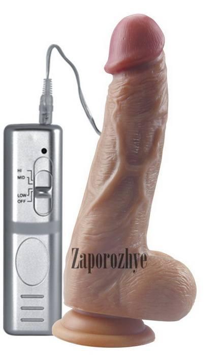 Вибратор Real Extreme Extra Girth Vibrating Dildo 8,25 Lovetoy