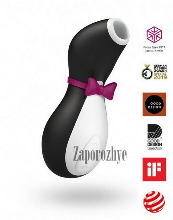 Вакуумный клиторальный стимулятор Satisfyer Pro Penguin Next Generation